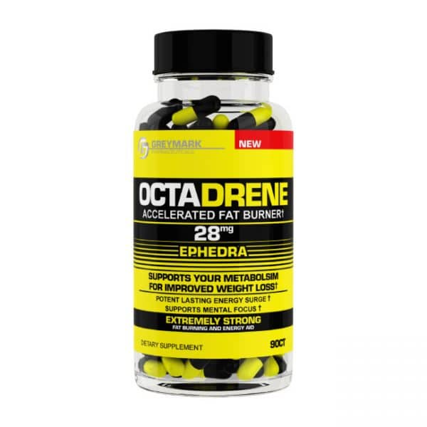 Octadrene Original with 28mg ephedra